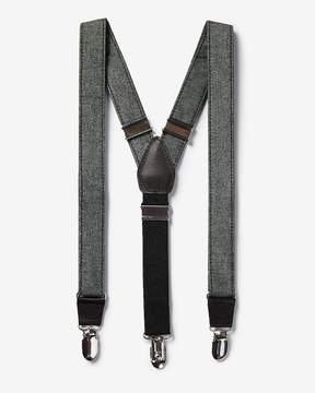 Express Chambray Suspenders