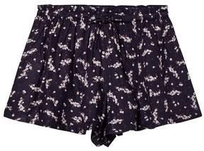 Cyrillus Navy Print Shorts