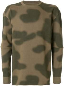 MHI oversized camouflage sweatshirt