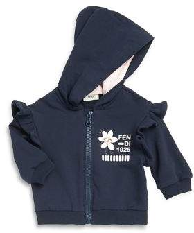 Fendi Baby Girl's Hooded Jogging Set