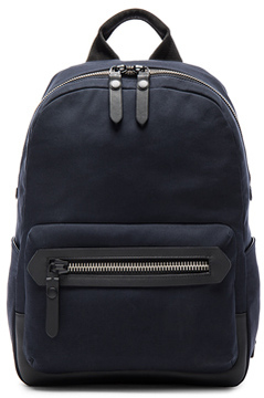Lanvin Cotton Gabardine Backpack in Blue.