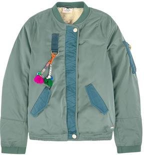 Scotch & Soda Bomber jacket with a fleece lining