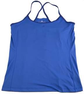 adidas Women's Adifit Tank Top Sports Athletics Blue Purple