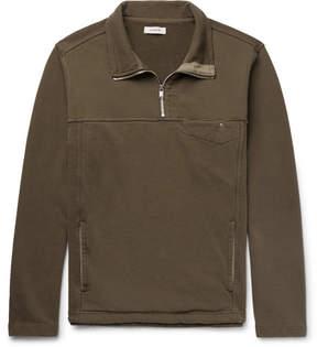 Nonnative Explorer Loopback Cotton-Jersey Half-Zip Sweatshirt