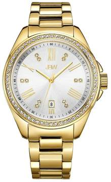 JBW Capri Grey Dial Diamond Ladies Watch