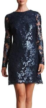 Dress the Population Grace Sequin Lace Shift Dress