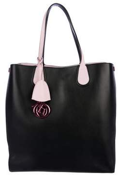 Christian Dior Leather Addict Tote