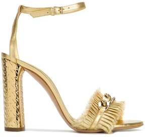 Casadei chain-trimmed sandals