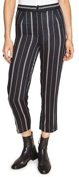 Amuse Society Women's Mirabel Stripe Crop Pants