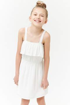 Forever 21 Girls Gauzy Flounce Dress (Kids)