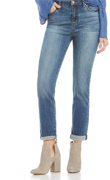 Celebrity Pink High Rise Rolled Cuff Mom Jeans
