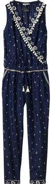 Scotch & Soda Printed Sleeveless Jumpsuit