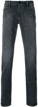 Jeckerson stitch detailed skinny jeans