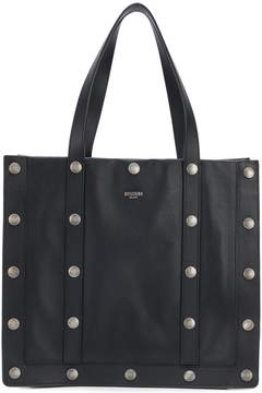 Moschino studded tote bag