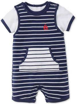 Little Me 2-Pc. Cotton Romper & T-Shirt Set, Baby Boys