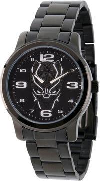 Marvel Avengers Mens Black Strap Watch-Wma000214