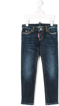 DSQUARED2 fade effect jeans