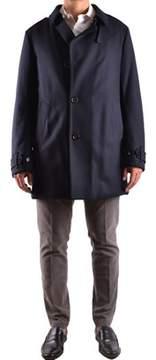 Allegri Men's Blue Wool Coat.