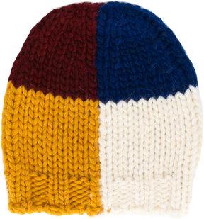 Bobo Choses colour-block beanie hat