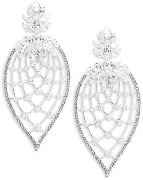 Adriana Orsini Women's Pavé Petal Drop Earrings