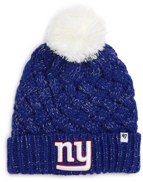 '47 Women's Fiona Ny Giants Beanie - Blue