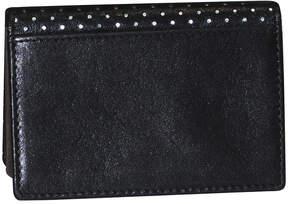 Dopp Buxton Alpha Rfid Leather Business Card Case