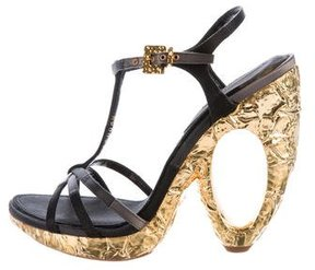 Louis Vuitton Feerique Platform Sandals