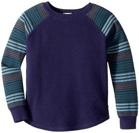 Splendid Littles Stripe Sleeve Raglan Top Boy's Clothing
