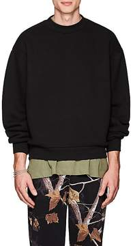 Alexander Wang Men's Cotton-Blend Oversized Sweatshirt