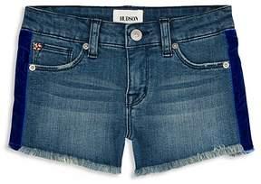 Hudson Girls' Gabby Velvet-Trimmed Shorts - Big Kid