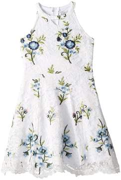 Us Angels Floral Lace Dress Girl's Dress