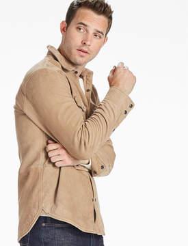 Lucky Brand Sierra Suede Shirt Jacket