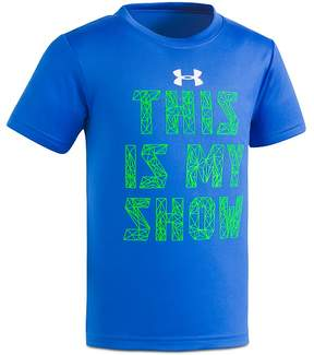 Under Armour Boys' This Is My Show Performance Tee - Little Kid