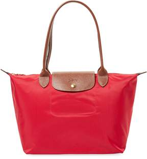 Longchamp Women's Le Pliage Long Handle Small Nylon Tote Bag