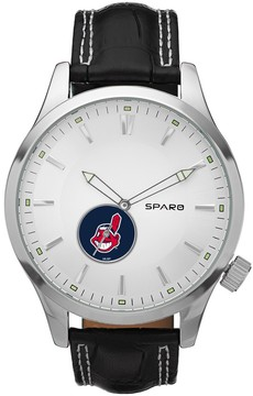 Icon Eyewear Sparo Watch - Men's Cleveland Indians Leather