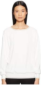 Escada Sport Nailar Long Sleeve Scoop Neck Top Women's Clothing