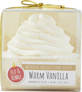 Fizz & Bubble Warm Vanilla Bath Cupcake