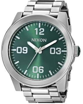 Nixon The Corporal SS Watch - Men's Green Sunray, One Size