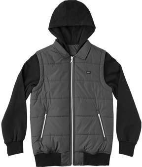 RVCA Puffer Zips Sweatshirt