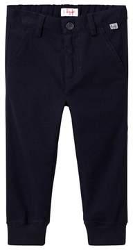 Il Gufo Navy Cuffed Trousers
