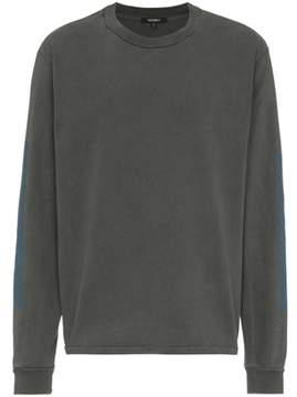 Yeezy Men's Grey Cotton T-shirt.