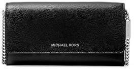 MICHAEL Michael Kors Large Patent Leather Chain Wallet