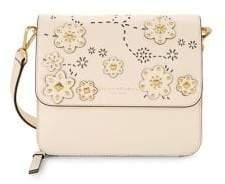 Donna Karan Floral Studded Crossbody Bag
