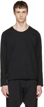 Attachment Black Raw Finish Pullover