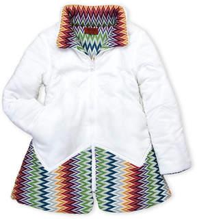 Missoni Girls 4-6x) Reversible Knit Paneled Jacket