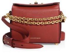 Alexander McQueen Box Bag 19 Grain Leather Satchel