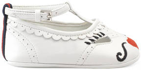 Gucci Baby leather ballet flat