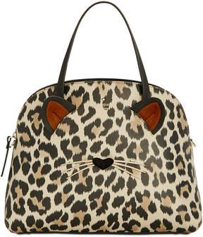 Kate Spade Run Wild Leopard Lottie Satchel - MULTI - STYLE