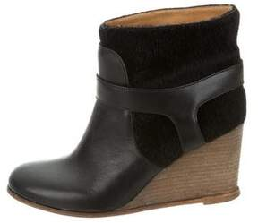 MM6 MAISON MARGIELA MM6 by Maison Martin Margiela Leather Ankle Booties