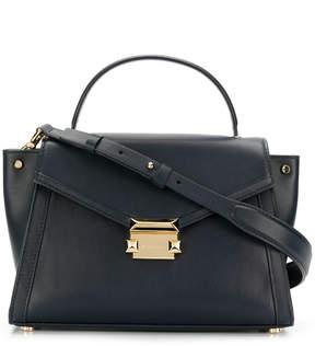 MICHAEL Michael Kors M Group Leather Shoulder Bag